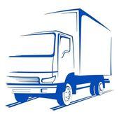 Vector truck — Stock Vector