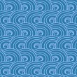 Seamless wave pattern. — Stock Vector