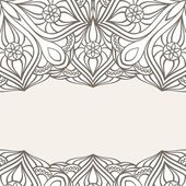 Ornamental frame. — Stock Vector