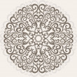 Ornamental round lace - Image vectorielle