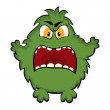 Funny monster — Stock Vector