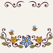Polka-einladungskarte. — Stockvektor