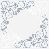 Kwiatowy kartkę z życzeniami — Wektor stockowy