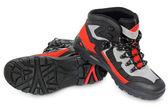 Men's winter boots — Stock Photo