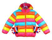 Renkli çocuk ceket — Stok fotoğraf