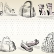 Fashion — Vector de stock #12428752