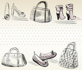 Fashion — Vector de stock