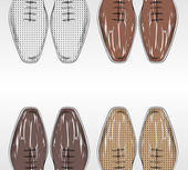 Fashion shoes. — Stockvektor
