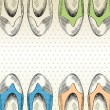 Fashion  shoes. - Imagen vectorial
