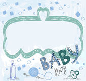 Baby Frame — Stock Vector