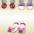 Shoes for little girls - 