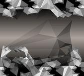 Origami paper. Eps10 — Stock Vector