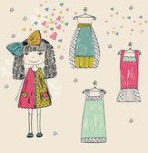 Fashion — Stock Vector