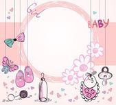 Baby Frame — Stock Vector