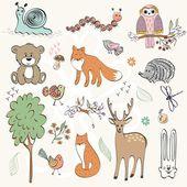 Animals — Stockvektor