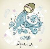 Aquarius — Stock Vector