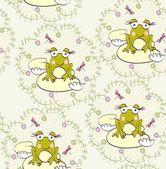 Legrační žába — Stock vektor