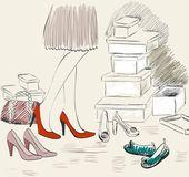 Shopping — Cтоковый вектор