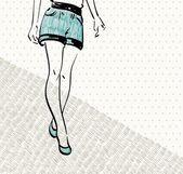 Fashion — Cтоковый вектор