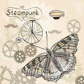 Steampunk — Stock Vector