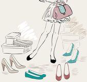 Shopping — Stok Vektör