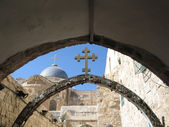 Part of via dolorosa — Stock Photo