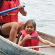 Young Girl in Canoe — Stock Photo #51665179