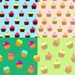 Cupcakes — Stock Vector #12578332