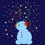 Snowman — Stock Vector #14041283