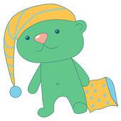 Teddybär — Stockvektor