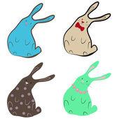 Rabbits — Stock Vector