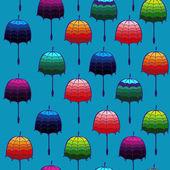 无缝的伞 — 图库矢量图片