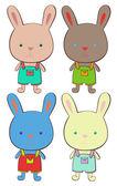 Hares — Stock vektor
