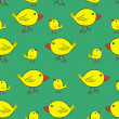 Vector de stock : Birds