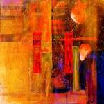 Постер, плакат: Abstract oil painting