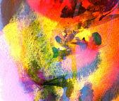 Akvarell abstrakt — Stockfoto