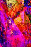 Abstraktní malba olej — Stock fotografie