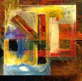 Pintura a óleo — Foto Stock