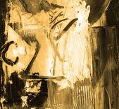 Pintura al óleo — Foto de Stock
