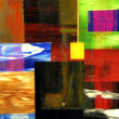 Abstract Color Block — Lizenzfreies Foto
