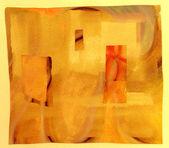 Collage di carta astratta — Foto Stock