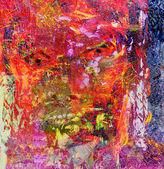 Oil On Canvas — Stock Photo
