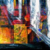 Peinture à l'huile — Photo