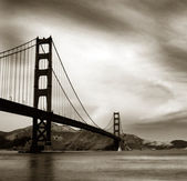 Golden gate — Fotografia Stock