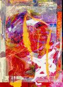 Abstrakt auf Glas — Stockfoto