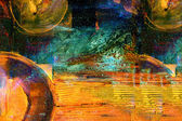 Pintura a óleo — Fotografia Stock