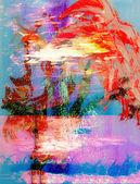 Red Iris — Stockfoto