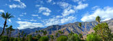 Palm Springs Pano — Stock Photo