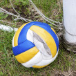 Stock Photo: Old ball
