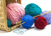 Colorful threads — Stock Photo